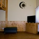 Moderner Flatscreen-TV