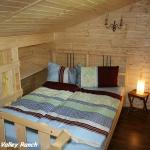 Schlafgalerie im Obergeschoss