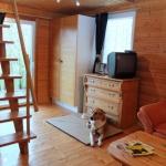 Wohnbereich mit Treppe zur Schlafgalerie