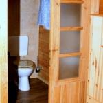 Tür zum Duschbad