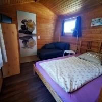 kombinierter Schlaf- und Wohnbereich
